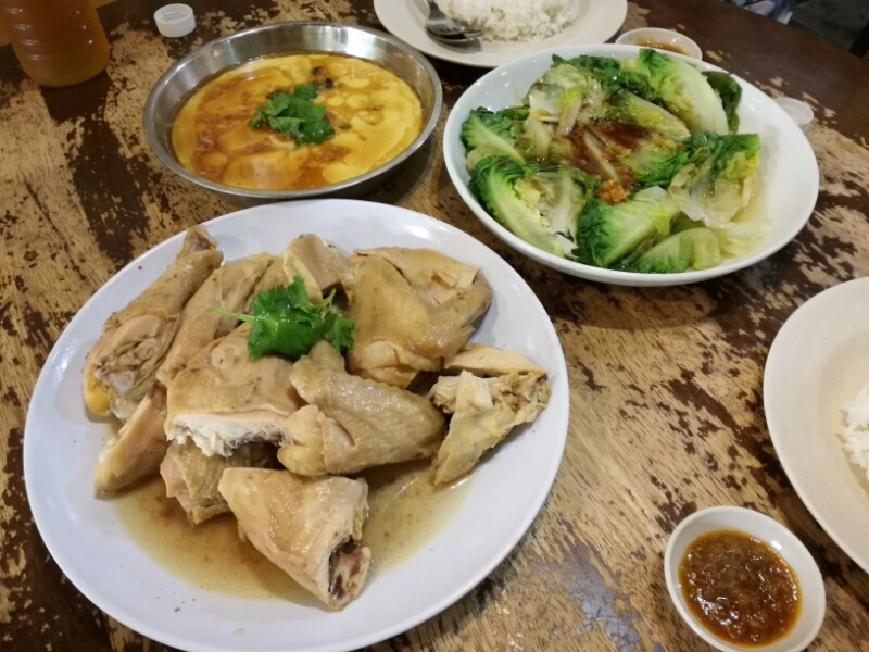 Ipoh Salted-baked Chicken (怡保鹽焗雞) @ Kuchai Lama